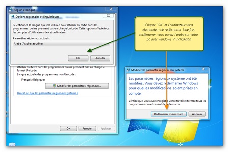 langue arabe pour windows xp sp3